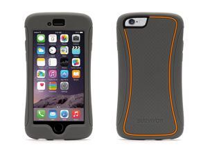 Grey Survivor Slim Protective Case for iPhone 6/6s 4.7,Sleek, layered protection from drops and screen damage