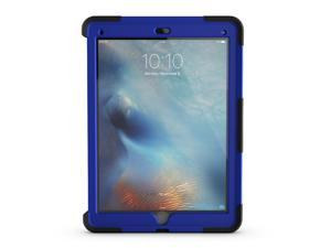 iPad Pro 12.9 Case- Black/Blue Survivor Slim Protective Case + Stand,Sleek, layered drop and screen protection