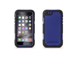 iPhone 6 Plus/6s Plus Case Survivor Extreme Rugged Case Black/Blue,Ultimate drop, splash-protective case for iPhone 6 Plus
