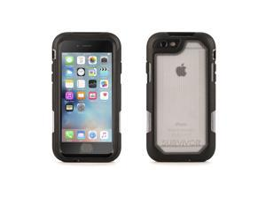 Black/Clear Survivor Extreme for iPhone 6/6s Protective Case - 10ft Drop Protection,Drop-proof, splash-proof rugged case for iPhone 6