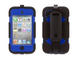 Griffin Black/Blue Survivor All-Terrain Case for iPod Touch (4th Gen)   Extreme-duty case for iPod touch 4th gen.