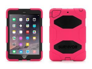 iPad mini 1/2/3 Rugged Case Survivor All-Terrain Case plus Stand,Military-duty case with stand-Touch ID Compatible