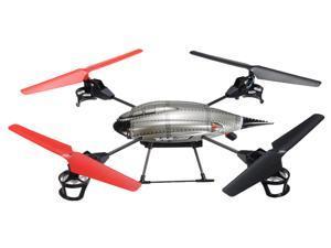 WLToys V959 Future Battleship 4-Axis Gyro IR RC Remote Control UFO Quadcopter Helicopter Camera