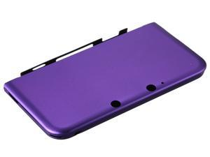 Purple Aluminum Box Hard Metal Cover Case Protector For Nintendo 3DS XL LL New