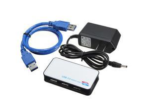 3.0 External HUB 4 Ports USB Adater for PC Notebook HDD MP3 Mouse Super Speed