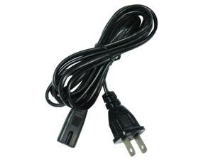 Universal 2-Prong AC Power Cable Cord Adapter Fr Xbox Playstation 2 PS1 PS2 Slim