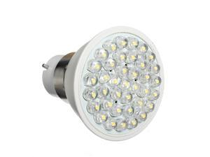 B22 38 LED 2.5W 100V-240V Warm White Light Bulb Lamp