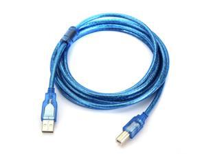 USB 2.0 A to B Male M/M Printer Print HighSpeed Cable Cord Plug Scanner 3m 10FT