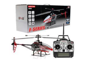 """Single Blade RC Helicopter MEMS GYRO 28""""MJX F45/F645 4CH 2.4Ghz - Red"""