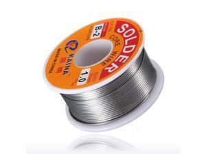 63/37 45FT 1mm Tin Lead Rosin Core Solder Flux Soldering Welding Iron Wire Reel