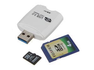 USB 3.0 Memory Card Reader For SD SDHC SDXC MMC Micro SD T-Flash pc laptop Windows ME 2000 XP Vista Mac OSX v10.1.2 plus