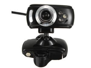 30M HD USB Webcam Camera With Microphone Mic 3 LED for PC Laptop
