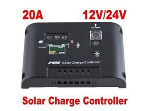 20A Solar Charge Controller Street Light Regulator 12V 24V Autoswitch Panel PWM