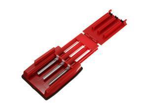 NEW Manual Triple Cigarette Tube Injector Roller Maker Rolling Machine 3 Color