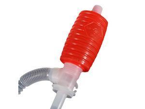 Portable Manual Car Siphon Hose Gas Oil Water Liquid Transfer Hand Pump Sucker