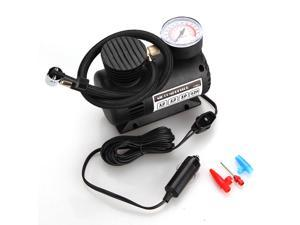Motorcycle Bike Bicycle Electric Pump Air Compressor Tire Inflator Tool Portable DC 12V 300 PSI