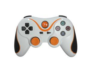 Wireless Bluetooth Six Axis DualShock 3 Game Pad Joypad Game Controller for Sony PS3 PlayStaion 3 White Orange