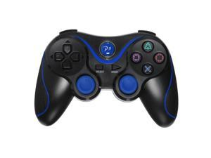 Wireless Bluetooth Six Axis DualShock 3 Game Pad Joypad Game Controller for Sony PS3 PlayStaion 3 Black Blue