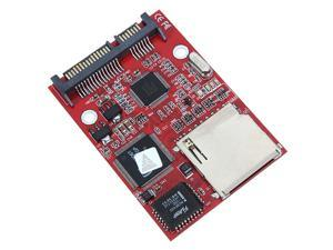 Digital SD SDHC Secure MMC to SATA Adapter Converter for Windows Mac Linux