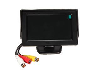 """LCD 4.3"""" TFT Car Reverse Rearview Backup Color Monitor Screen Camera DVD VCR"""