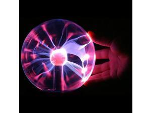 Electric USB Glass Plasma Ball Light Lamp Sphere Party Desk Desktop Magic Crystal Lightning Laptop