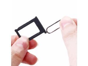 New SIM Card Slot Tray Holder For Apple iPhone 3GS 3G S + Sim Card Tray Remover Eject Ejector Pin Key Tool for iPhone 5 4S 4G 3GS iPad