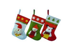 Christmas Tree Decorations Tree Hanger Christmas Sock Stockings Santa Claus Snowman Sacks Kids Gift