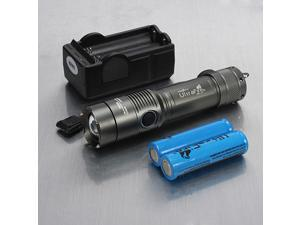 UltraFire 2000Lm CREE XML T6 LED Flashlight Torch Zoomable Lamp 18650 Battery