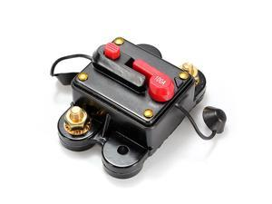 Car Marine Boat Stereo Audio Amplifier DC12V-24V Inline Circuit Breaker Replace Fuse 100A
