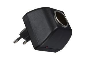 US Plug 12V 110v LED AC 100-240V to DC Home to Car Power cigarette lighter Socket Adapter Travel Charger