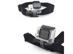 Elastic Adjustable Camera Head Strap Mount Belt For GoPro Hero HD Hero2 & Hero3 Go Pro 2 3 Headstrap  Helmet