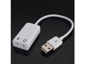 LED USB 2.0 3D Virtual 7.1 Channel Audio Sound Card Adapter for PC Laptop WIN 7 MAC windows 98SE/ME/2000/XP/Server 2003/Vista/Windows7.Linux Macos