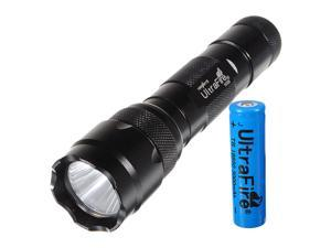 1000LM UltraFire WF-502B CREE XM-L T6 LED Flashlight Torch Waterproof Lamp + 18650 Battery