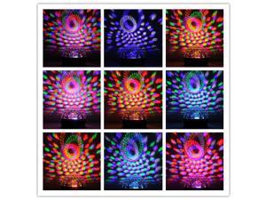 DMX512 Disco DJ Stage Light  Lighting Digital LED RGB Crystal Magic Ball Effect Voice  Remote Control Lamp
