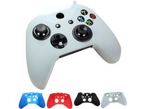Silicone Case Cover Skin Cap Protector for For Xbox one Gaming Game Controller White