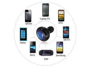 Mini Handsfree Wireless Bluetooth Headphone Headset Earphone for iPhone 4 4s 5s 5 5c SAMSUNG galaxy note 2 s2 s3 s4