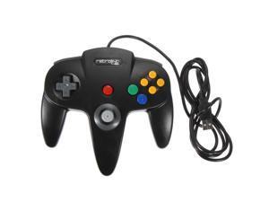 Classic Wired Nintendo 64 N64 USB Controller Game Gaming Gamepad Joypad Joystick for PC MAC Computer BLACK