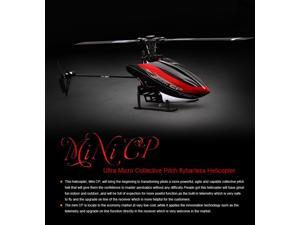 WALKERA Mini CP 6CH Helicopter Flybarless 3 Axis Gyro Telemetry RFT