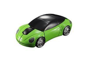 Mini Wireless 3D Optical 2.4G USB Car Mouse Mice 1600DPI For PC Laptop Mac Win7