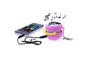 Mini USB Portable Stereo Speak Speaker with Key Chain For MP3 MP4 Phone Apple iPhone 3 3GS 4 4S 5 5S iPad Samsung Galaxy S2 S3 i9300 S4 Note Note3 NOKIA Sony HTC BlackBerry Motorola