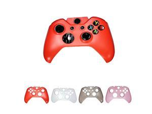 Hard Plastic Protective Gaming Game Crystal Case Shell Cover for Microsoft Xbox One Controller Red