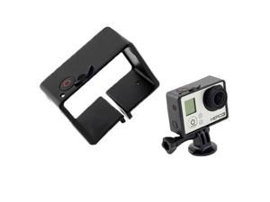 Border Frame Mount Protective Housing for GoPro HD Hero 3 + BacPac Soft Button