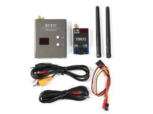 Boscam FPV 5.8G 600mW 32CH Wireless Transmitter Receiver TS832 RC832 NEW