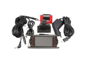 "2.7"" Dual Lens Dashboard Dash Vehicle DVR Rear Camera Car Camcorder F90 HD"