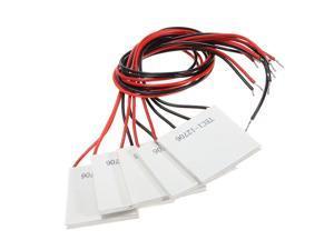 5pcs TEC1-12706 Heatsink Thermoelectric Cooler Cooling Peltier Moulde 12V 60W 6A