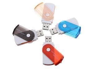 3pcs USB 2.0 Adapter Micro MS M2 SD TF MMC Memory Card Reader Writer For PC Laptop Computer Random Colors