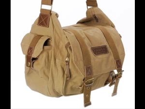 Vintage Canvas Camera Bag F1 for Caden DSLR Nikon Sony Canon Pentax Shoulder Messenger