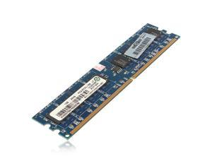 1GB DDR2 PC2-5300 5300U DDR2-667 MHZ 240-Pin Non-ECC Desktop PC DIMM Memory RAM