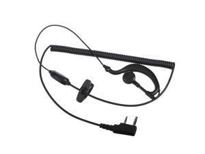 Mic Headset Ear Hook Earphone Radio Speaker Microphone For Radio Walkie Talkies