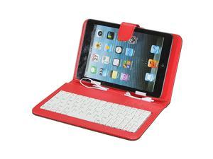 Micro USB PU Leather Keyboard Case Cover Stand For 7.0 7 Inch Android Tablet PC